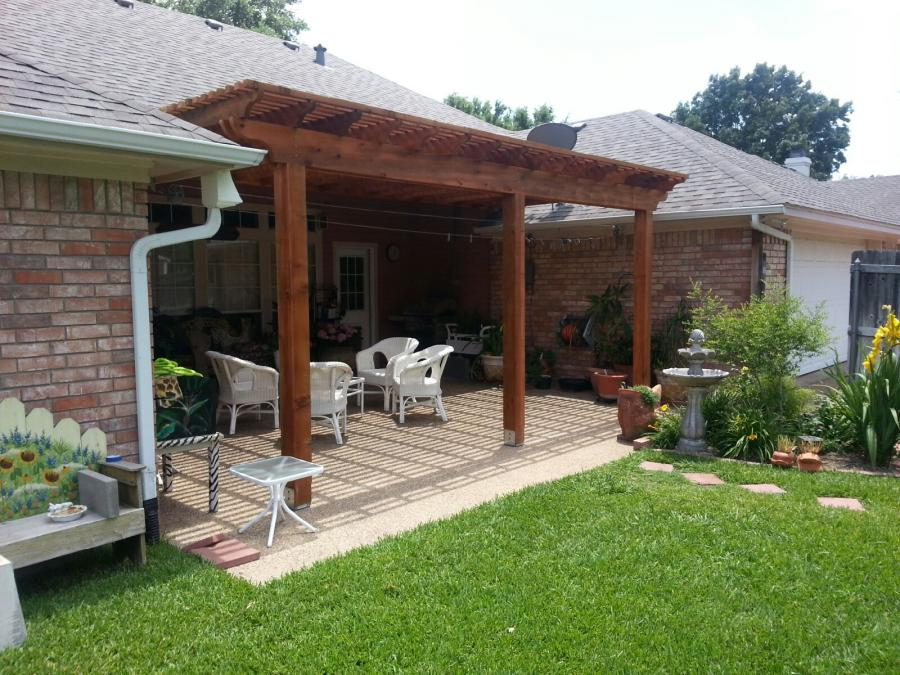 Redwoods Inc Waco - Backyard Pergola Submission
