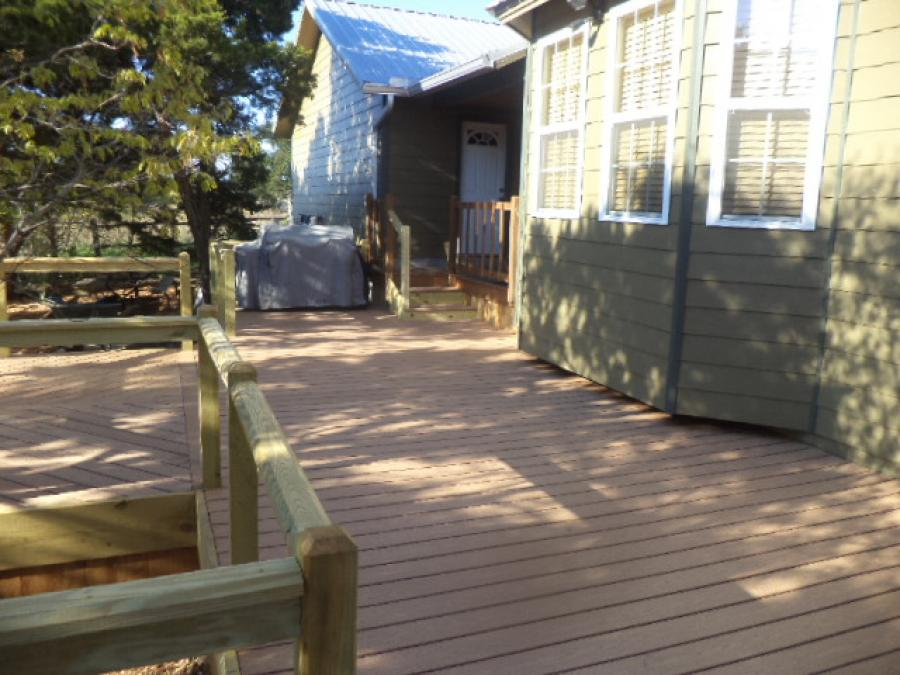 Redwoods Inc Waco - Deck Construction Project Submission