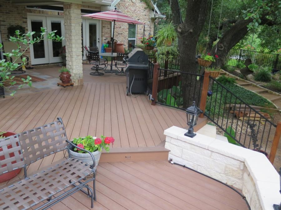 Redwoods Inc Waco - Deck Lumber & Staining