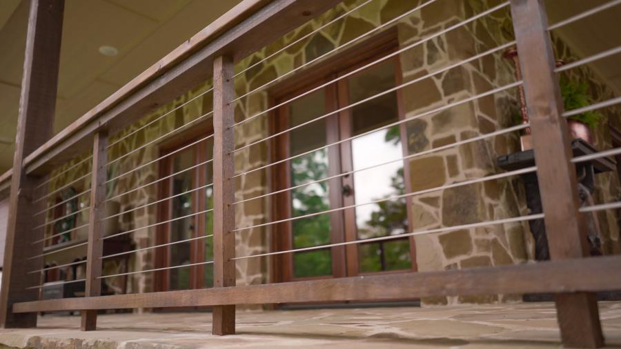Redwoods Inc Waco - Cable Railing Project