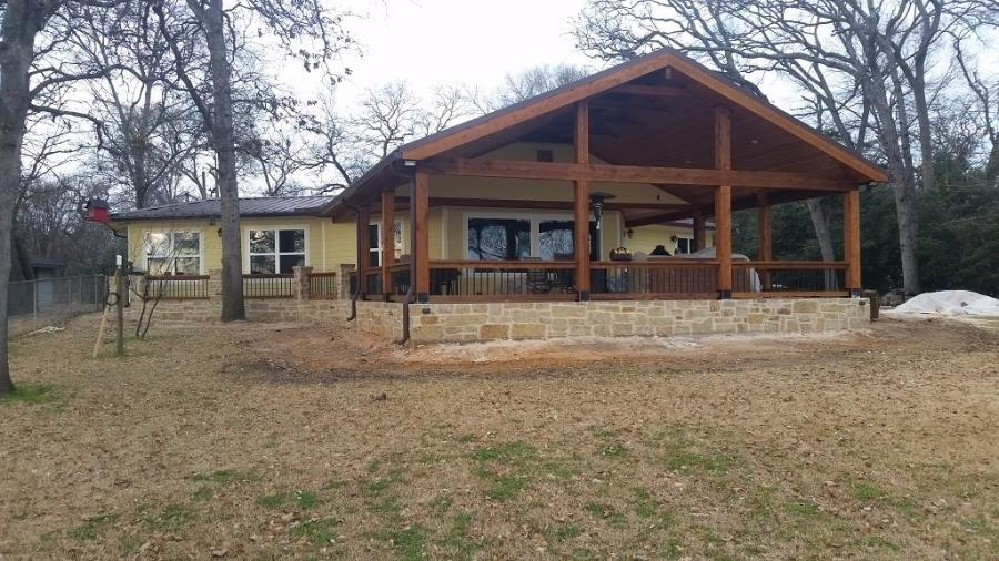 Redwoods Inc Waco - Cedar Porch Addition Project