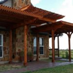 Redwoods Inc Waco - Redwood Cedar Pergola