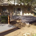 Redwoods Inc Waco - Porch Lumber Construction Project