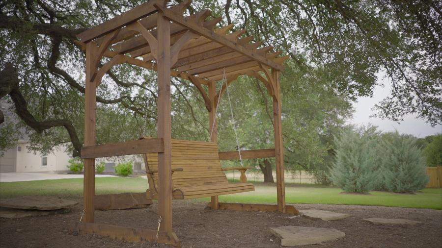 Redwoods Inc Waco - Outdoor Swing Lumber