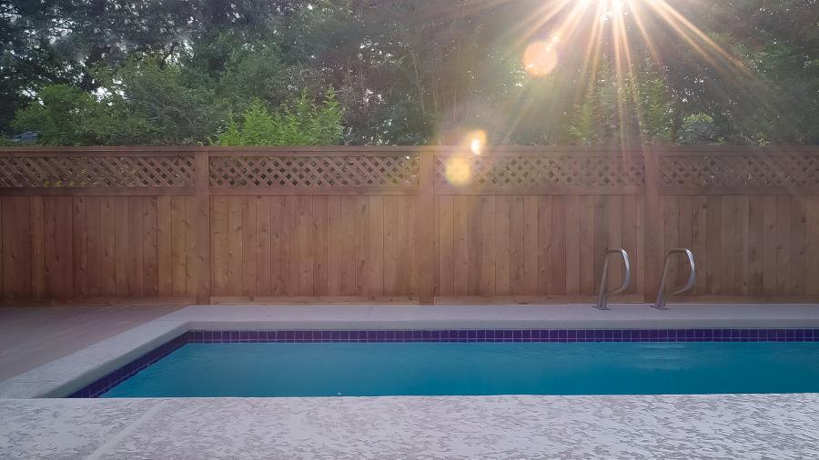Redwoods Inc Waco - Pool Privacy Fence Lumber