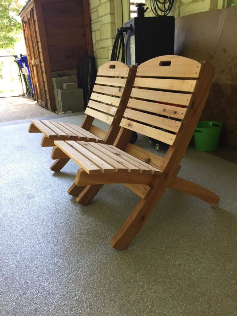 Redwoods Inc Waco - Wooden Lawn Furniture Project