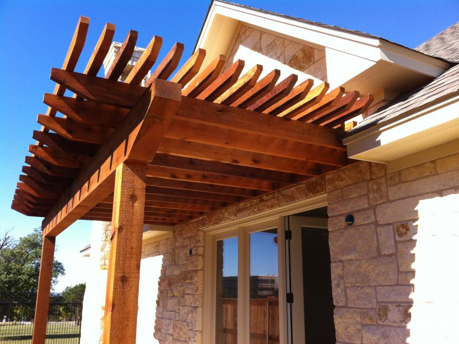 Redwoods Inc Waco - Pergola Awning Project
