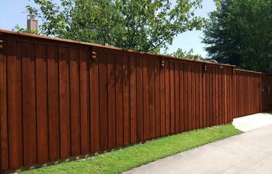 Redwoods Inc Waco - Red Cedar Fence and Gate Project