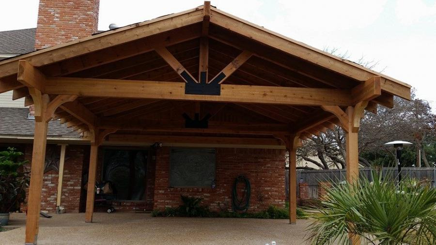 Redwoods Inc Waco - Covered Parking Cedar Lumber