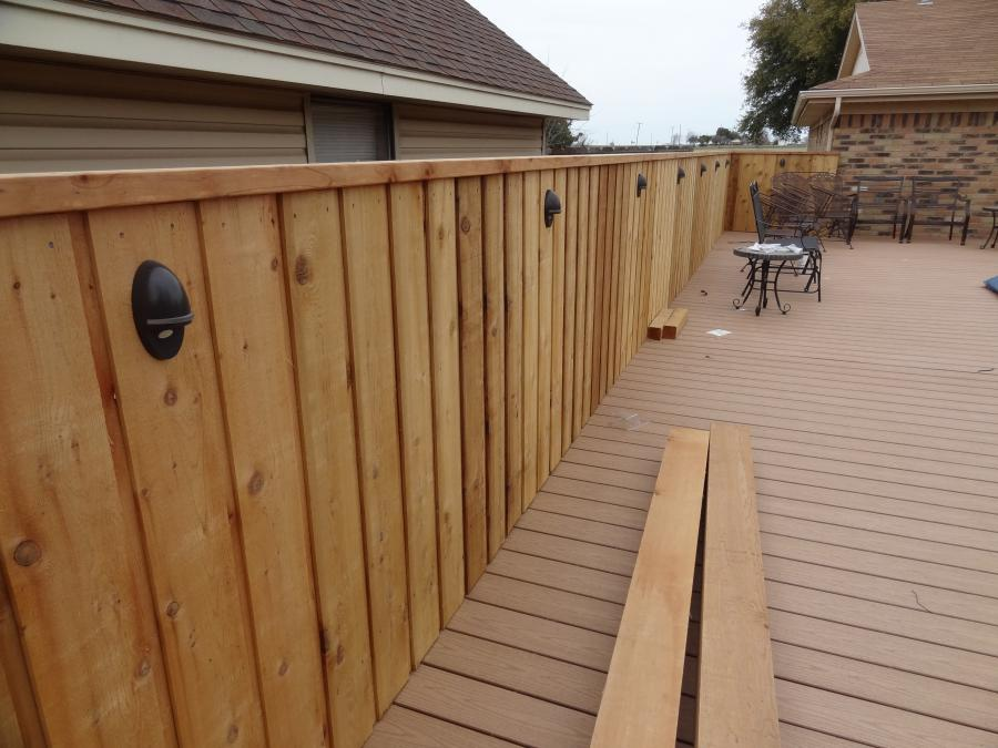 Redwoods Inc Waco - Deck and Railing Project Submission