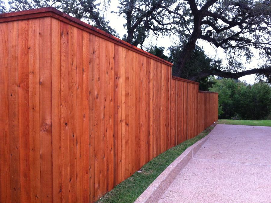 Redwoods Inc Waco - Red Cedar Privacy Fence Project Submission