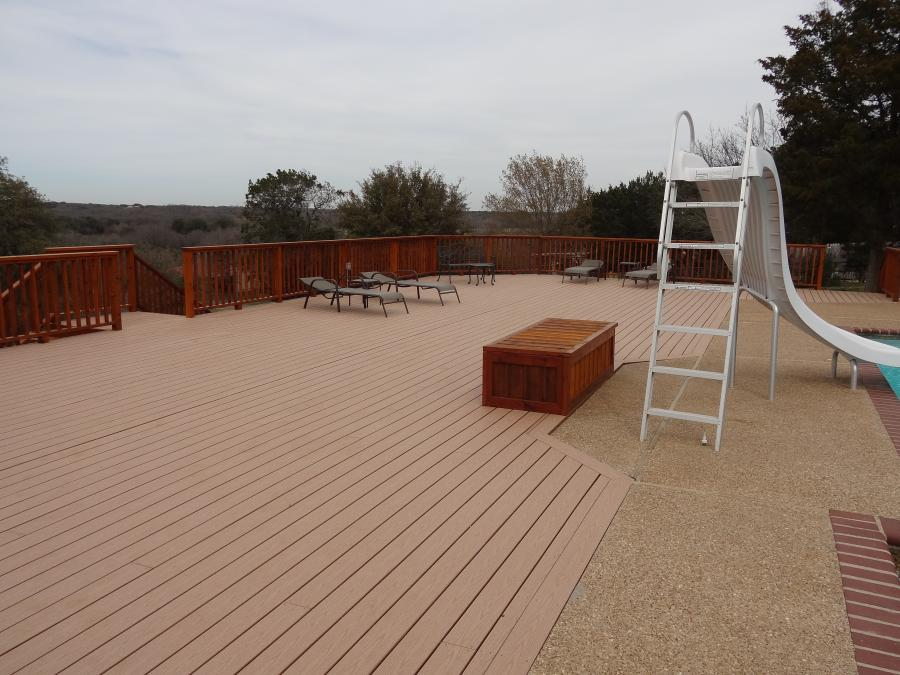 Redwoods Inc Waco - Pool Deck Construction Lumber & Railing