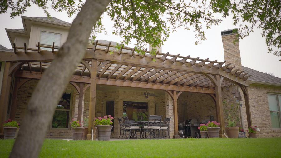 Redwoods Inc Waco - Pergola Wood