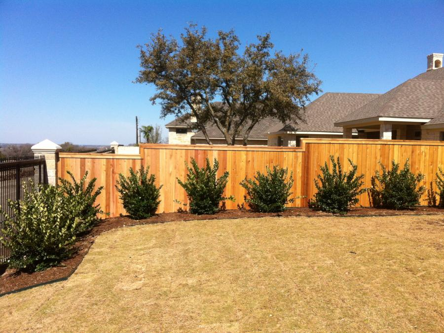Redwoods Inc Waco - Cedar Privacy Fence Project