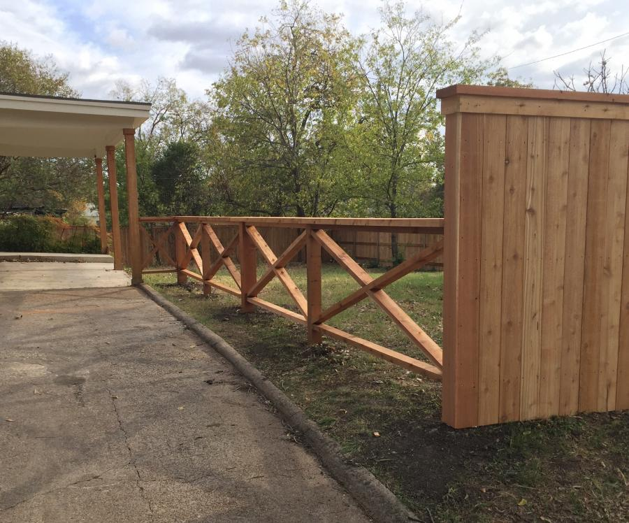 Redwoods Inc Waco - Red Cedar Fence Lumber