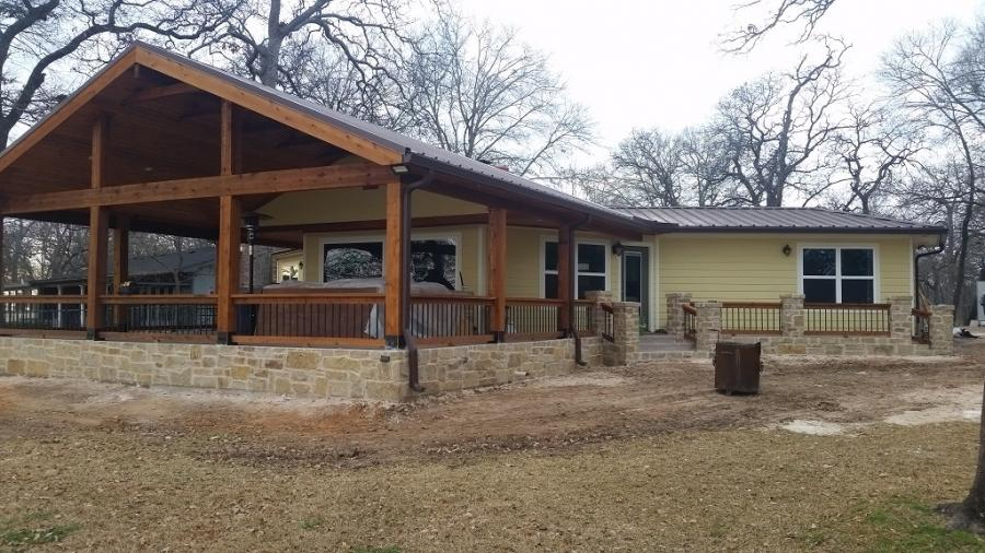 Redwoods Inc Waco - Lumber Porch Addition