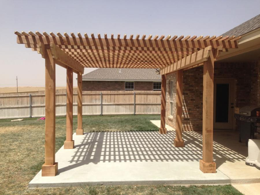 Redwoods Inc Waco - Pergola Construction for Patio Area