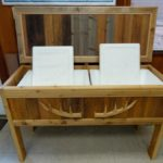 Redwoods Inc Waco - Custom Cedar Ice Chest Project
