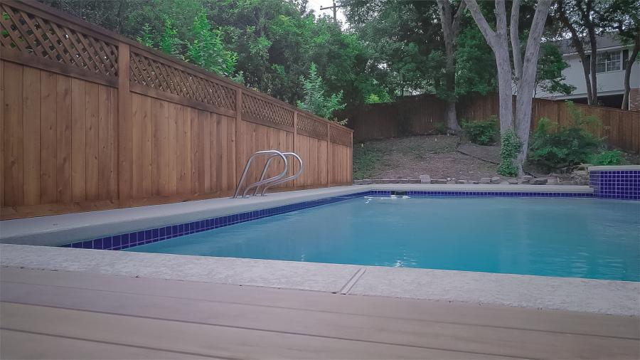 Redwoods Inc Waco - Pool Deck & Cedar Privacy Fence
