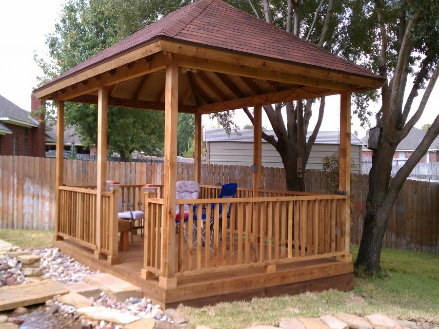 Redwoods Inc Waco - Outdoor Covered Area Construction Project