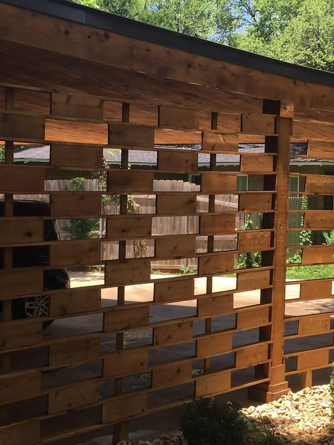 Redwoods Inc Waco - Custom Wood Wall Project