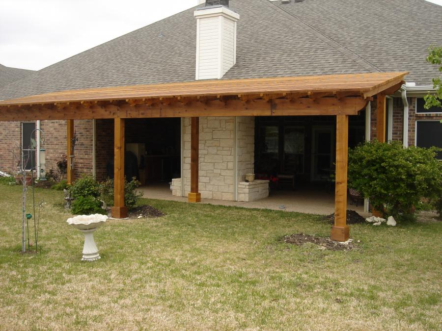 Redwoods Inc Waco - Pergola Lumber Construction Project