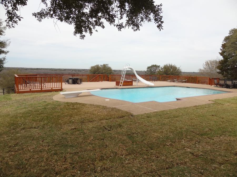 Redwoods Inc Waco - Pool Cedar Deck & Railing Submission