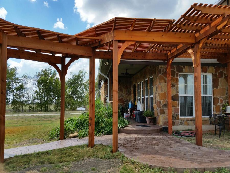 Redwoods Cedar Waco - Pergola Project Submission