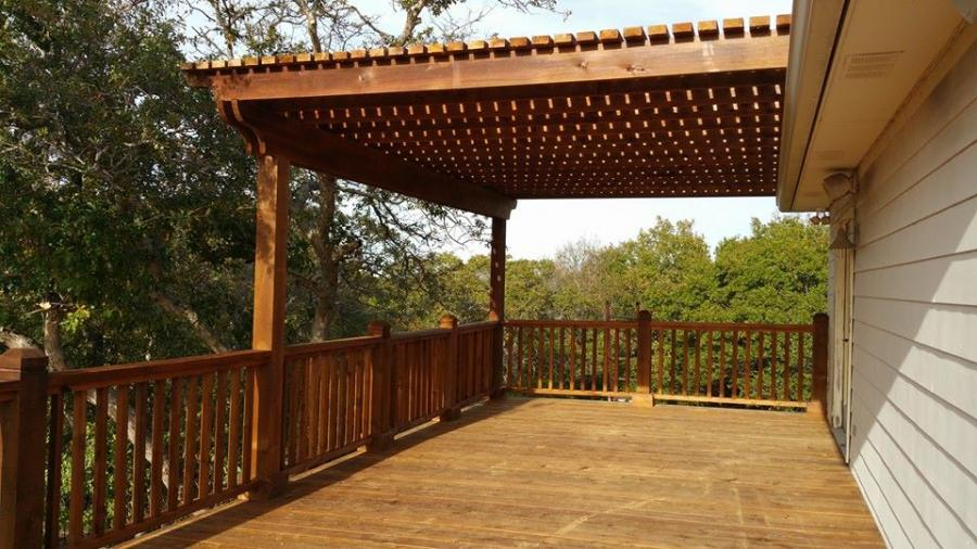 Redwoods Inc Waco - Covered Deck Submission