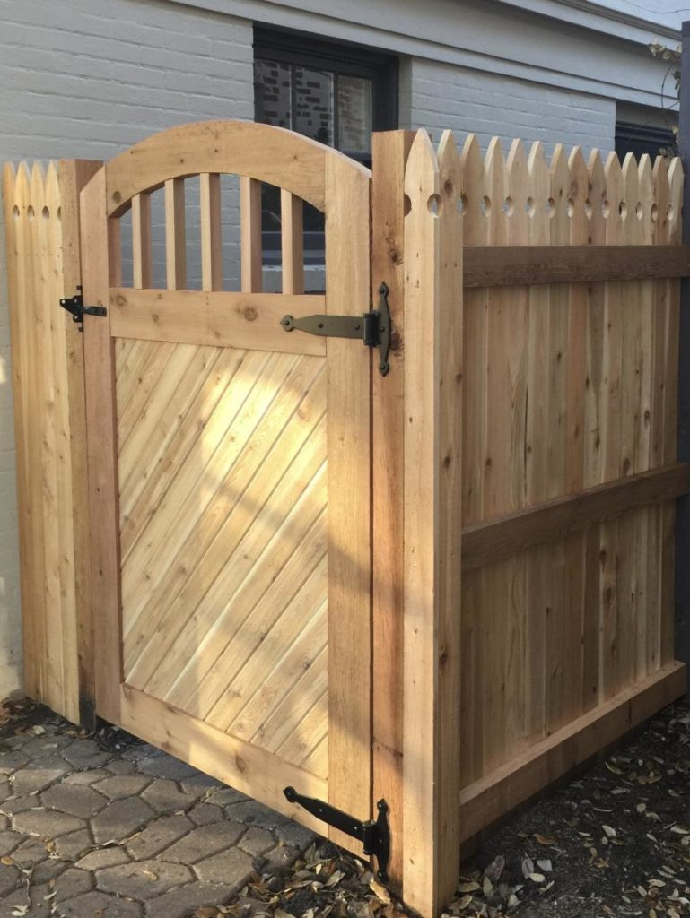 Redwoods Inc Waco - Treated Yellow Pine Timbers Privacy Fence & Gate