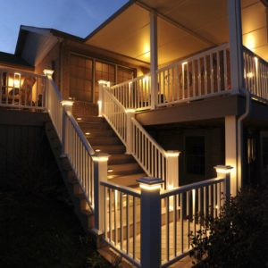 TimberTech Deck Lighting Waco, Texas - Redwoods, Inc