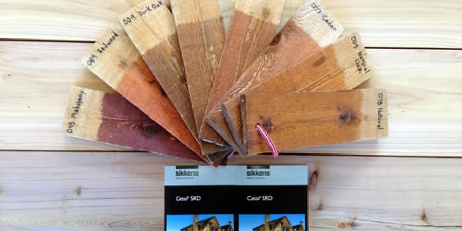 Redwoods Inc Waco - Staining Options