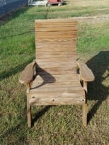 cedar chair with new stain