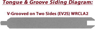 Tongue & Groove Siding Diagram - Redwoods Waco